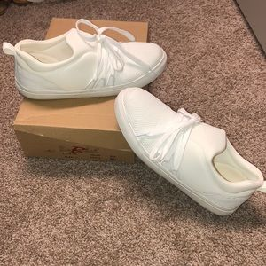 White designer inspired shoes!